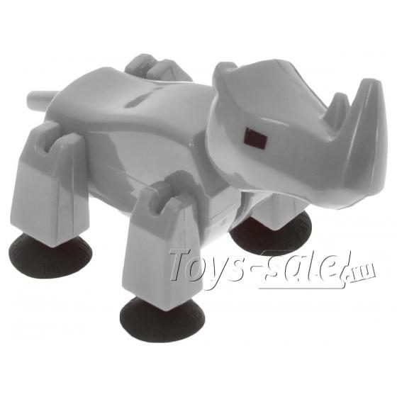 Стикбот фигурка животные сафари Носорог Stikbot