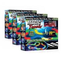 Гоночная трасса Magic Tracks светящаяся Giga Set - 660 деталей