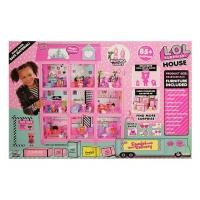 Огромный ДОМ для куколок ЛОЛ 85+ Сюрпризов (LOL Surprise House) 3 этажа