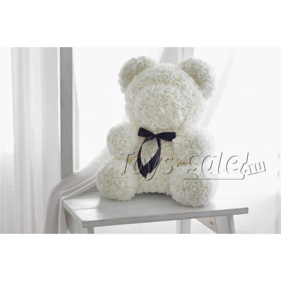 Медведь из Белых Роз 40 см