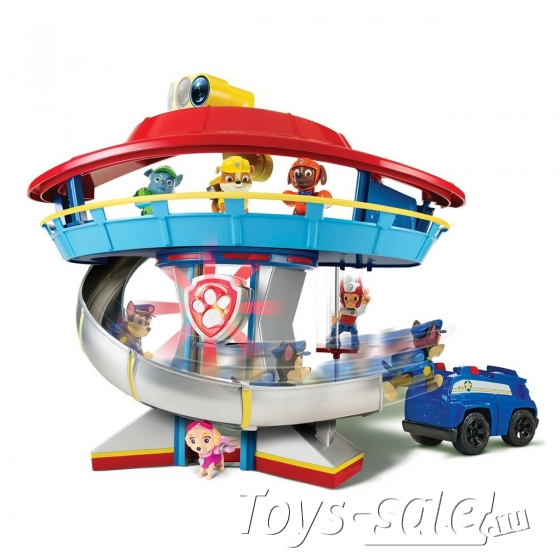 Набор игрушек Щенячий Патруль - Большой офис спасателей