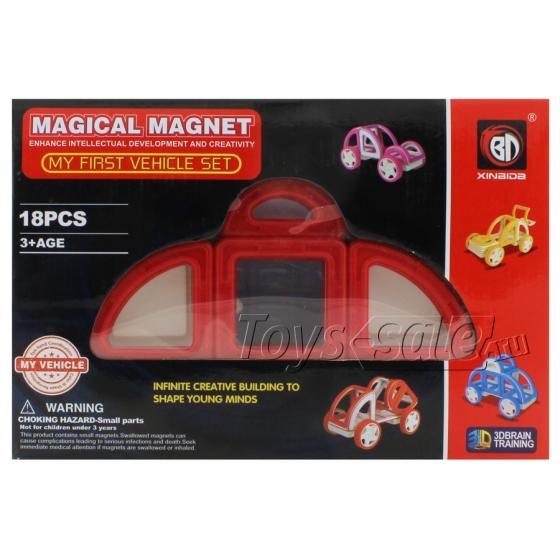 Магнитный конструктор Magical Magnet 18 деталей