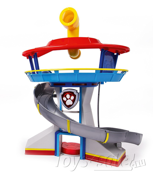 Премиум Набор игрушек Щенячий Патруль - 7 Героев + Офис