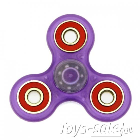 Спиннер Фиолетовый (три лопасти) - полупрозрачный