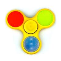 Спиннер Желтый (три лопасти) - Подсветка