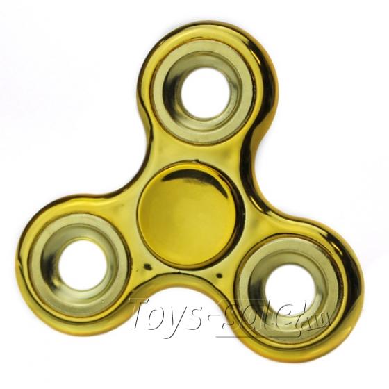 Спиннер Золотой хром (утяжеленный)