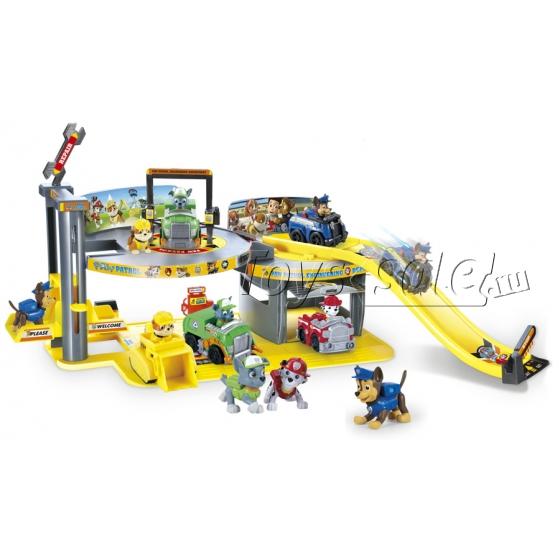 Набор игрушек Щенячий Патруль (Paw Patrol) - Инженерный департамент