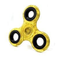 Спиннер Желтый (три лопасти) - полупрозрачный, блестки