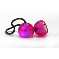 Антистресс-игрушка Thumb Chucks YoYo - Розовый с подсветкой