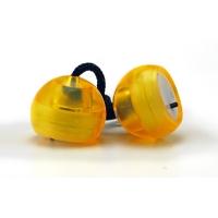 Антистресс-игрушка Thumb Chucks YoYo - Желтый с подсветкой