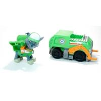 Набор игрушек Щенячий патруль - 6 героев с транспортом и рюкзаками трансформерами. Райдер в комплекте.