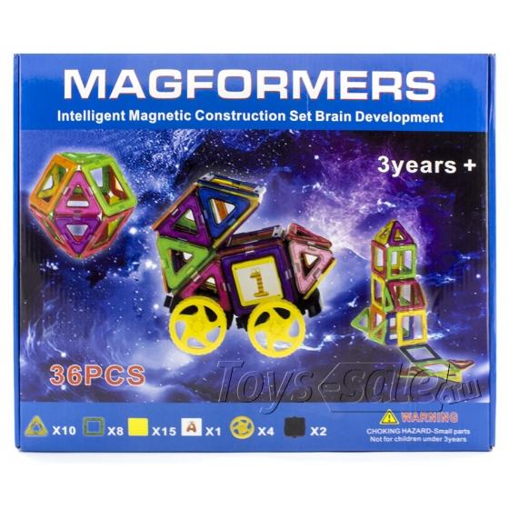 Магнитный конструктор MAGFORMERS 36 деталей