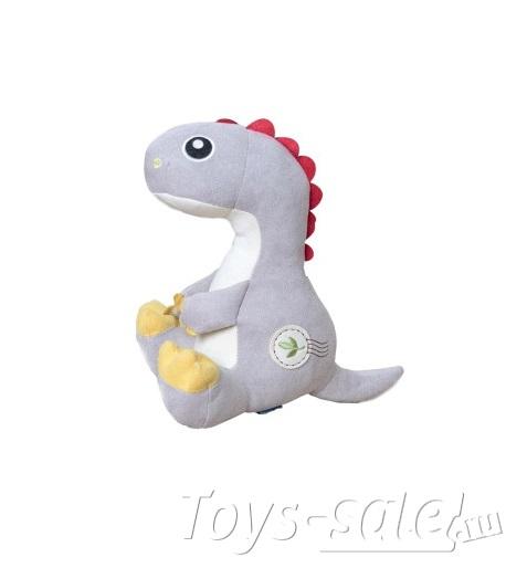 Мягкая игрушка Динозавр 23 см (серый)
