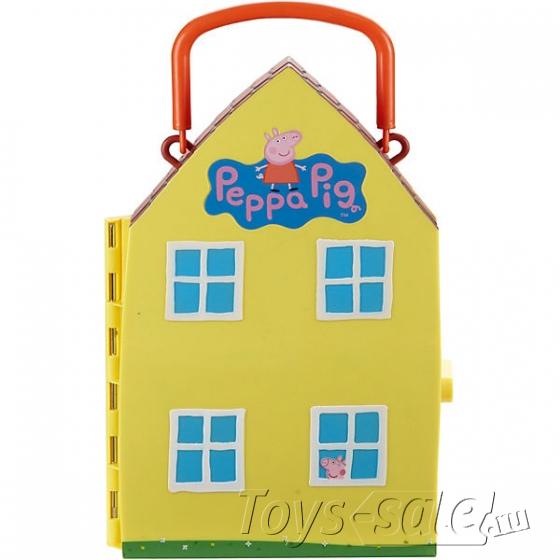 Желтый домик Свинки Пеппы
