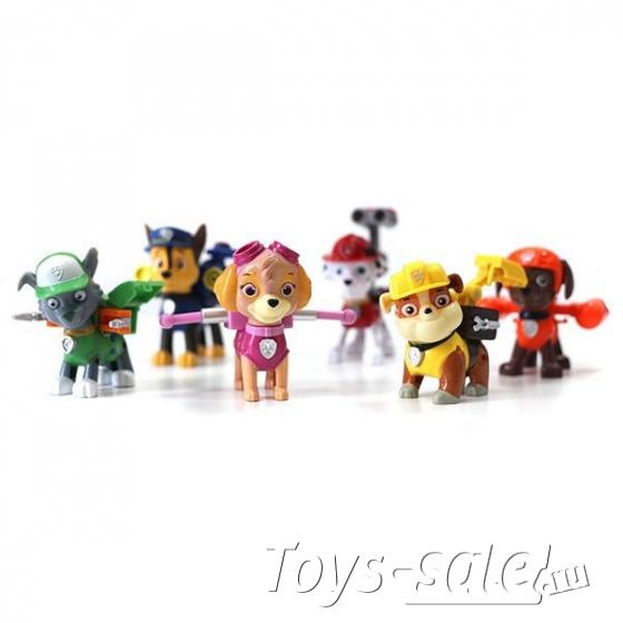 Набор игрушек Щенячий Патруль  6+1 Вся команда щенков  + Райдер