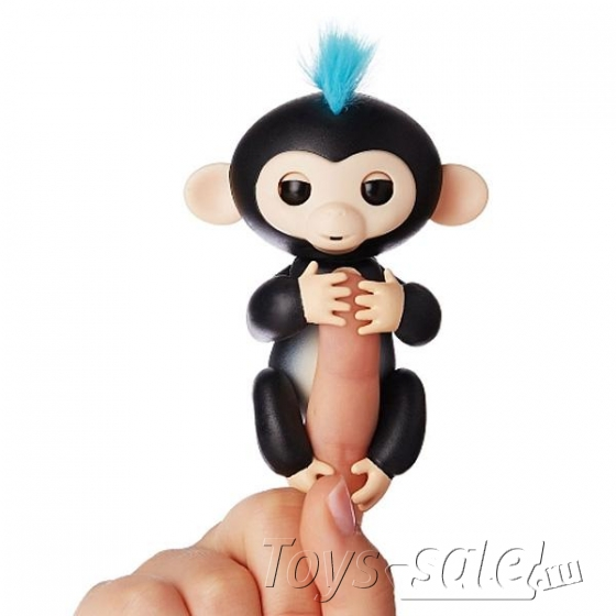 Интерактивная обезьянка Fingerlings Monkey Финн