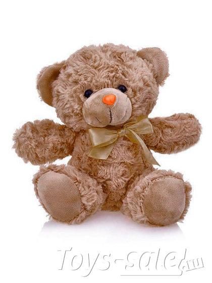 Мягкая игрушка Мишка 22 см (коричневый)