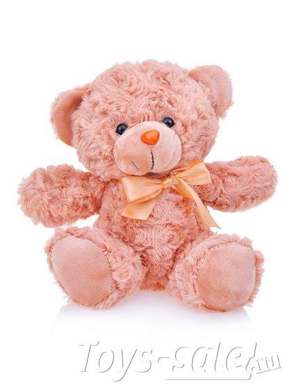 Мягкая игрушка Мишка 22 см (розовый персик)