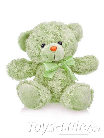 Мягкая игрушка Мишка 22 см (зеленый)