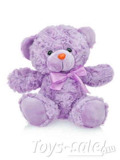 Мягкая игрушка Мишка 22 см (светло-фиолетовый)