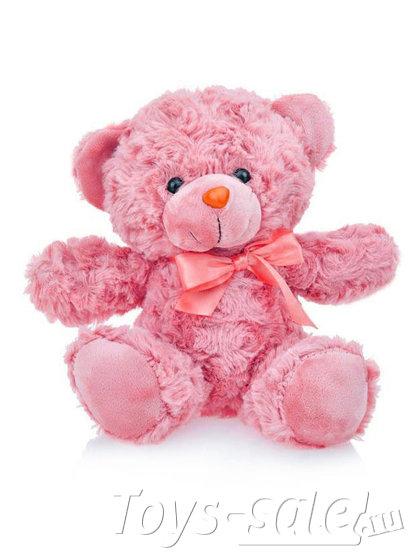 Мягкая игрушка Мишка 22 см (розовый)