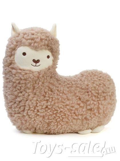 Мягкая игрушка подушка Овечка (коричневая)