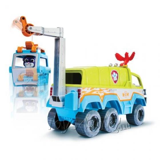 Набор игрушек Щенячий Патруль (Paw Patrol) - Офис спасателей + Вездеход спасателей