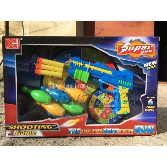 Игровой набор Бластер Super Gun XH012