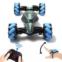 Машинка HYPER TWISTER с управлением жестами (42 см) синяя