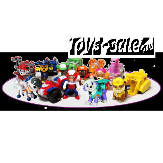 Набор игрушек Щенячий патруль - 9 героев с транспортом и рюкзаками трансформерами