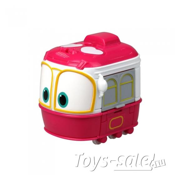Набор трансформеров Роботы Поезда (Robot Trains) 4 шт
