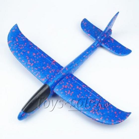 Самолет - Планер 36 см Синий