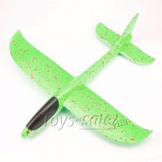 Самолет - Планер 36 см Зеленый
