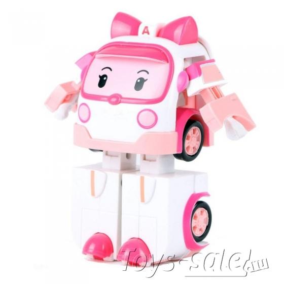Набор трансформеров Робокар Поли (Robocar Poli) 4 шт