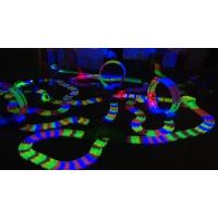 Гоночная трасса Magic Tracks 660 светящаяся Giga Set - 660 деталей