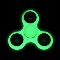 """Спиннер светящийся полупрозрачный """"Зеленый неон"""""""