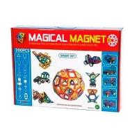 Магнитный конструктор Magical Magnet 200 деталей