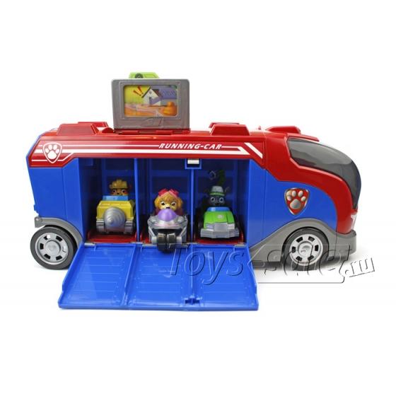 Набор игрушек Щенячий Патруль - Офис спасателей + Автобус спасателей