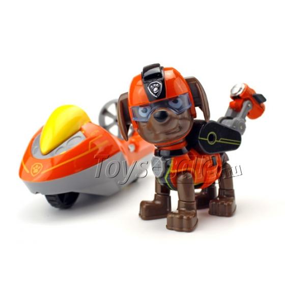Набор игрушек Щенячий патруль - 8 героев с рюкзаками-трансформерами и большими машинками