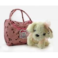 Мягкая собачка Чи-Чи Лав Болонка с короной и сумочкой (20 см)