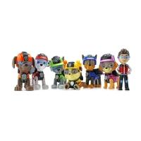 Набор игрушек Щенячий Патруль (Paw Patrol) 6 щенков и Райдер