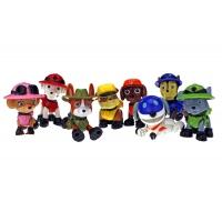 Набор игрушек Щенячий Патруль (Paw Patrol) 8 щенков - Джунгли Box