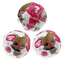 Кукла-сюрприз LOL в шарике серия 5 - набор из 3 шариков