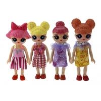 """Набор кукол """"4 подружки ЛОЛ"""" - 15 см"""
