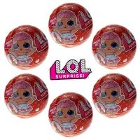 Кукла-сюрприз LOL в шарике серия Alight - набор из 6 шариков