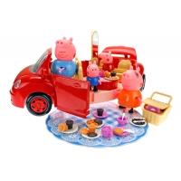 Машина - трансформер «Свинка Пеппа едет на пикник»
