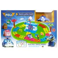 Игровой набор Робокар Поли - Полицейский участок: трек с электрической машинкой