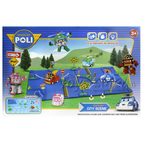 Игровой набор Робокар Поли - Дорожное движение