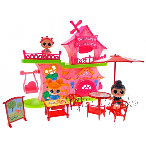 Клубный дом кукол LOL