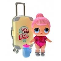 """Набор для макияжа """"Большая кукла LOL путешественница"""""""